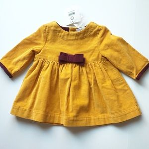 hanna andersson 50 0-3m Corduroy Top - NEW